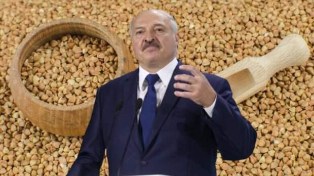 Лукашенко обвинил Россию в нежелании поставлять гречку Белоруссии