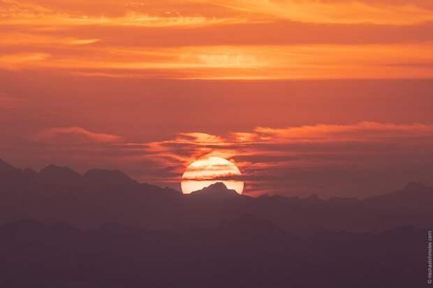Полет на воздушном шаре над пустыней Руб-эль-Хали