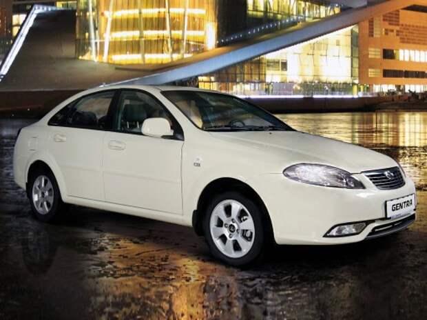 Daewoo Gentra «скинула» 200 тыс. рублей