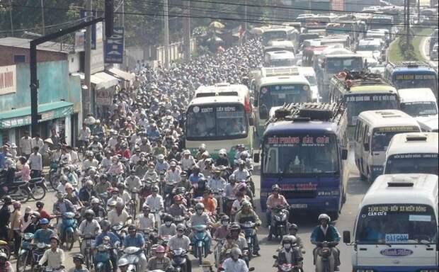 8. Вьетнамцы автопутешествие, водители