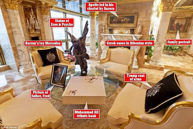 Так жить нельзя: резиденция Дональда Трампа