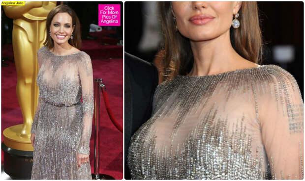 Джоли отрезала грудь. Вот дура-то, да?