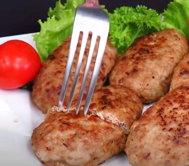 Быстрый обед: вкусные домашние котлеты из мясного фарша. Как приготовить котлеты просто и вкусно