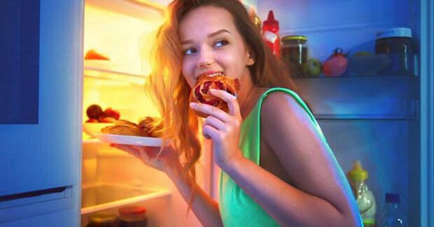 Почему нестоит есть перед сном