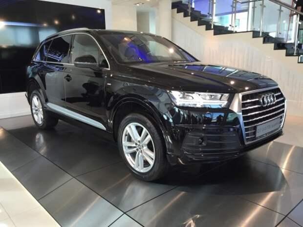 Audi представила в России новый Q7
