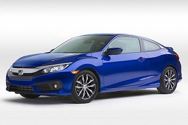 Красота по всем направлениям: Honda показала Civic Coupe