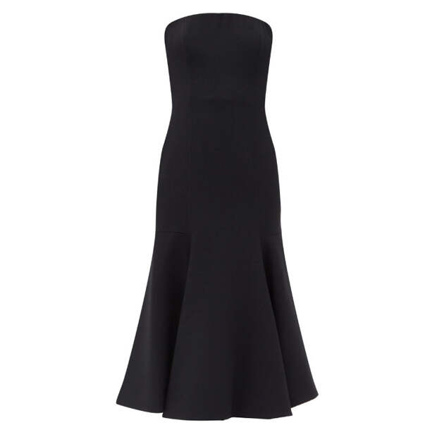 Открываем плечи: самые красивые платья-бандо из новых коллекций
