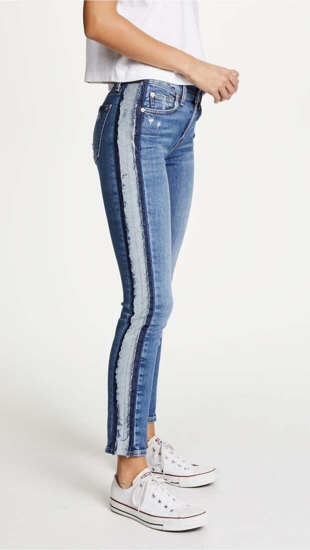 Летние хипповые джинсы
