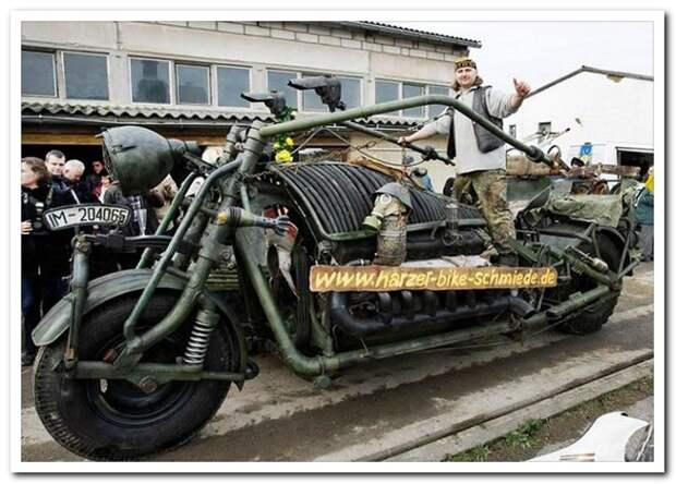 Мотоциклы тоже бывают разные