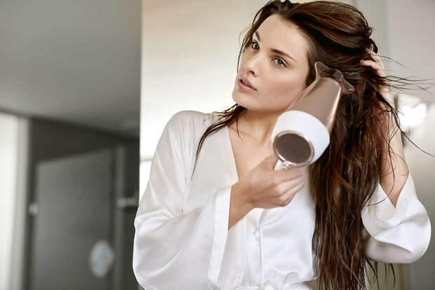 Как правильно сушить разные типы волос?