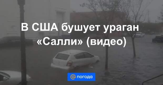 В США бушует ураган «Салли» (видео)
