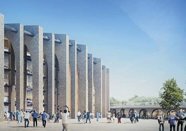 Дизайн нового стадиона для футбольного клуба Chelsea
