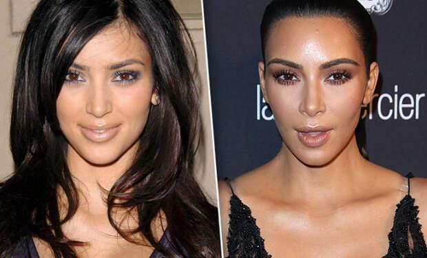 Настоящий облик Ким Кардашьян
