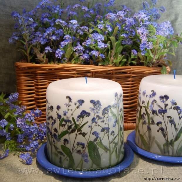 цветочные свечи ручной работы (81) (599x600, 272Kb)