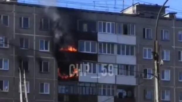 Один человек погиб на пожаре в Перми