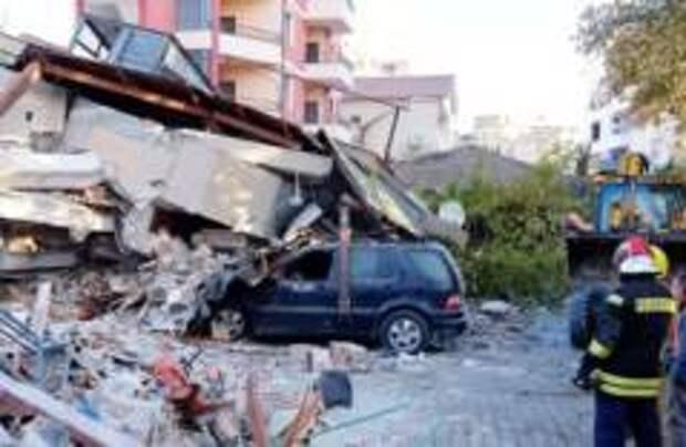 Число жертв землетрясения в Албании возросло до 20 человек