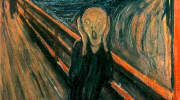 Эксперты раскрыли тайну надписи на картине «Крик» Эдварда Мунка
