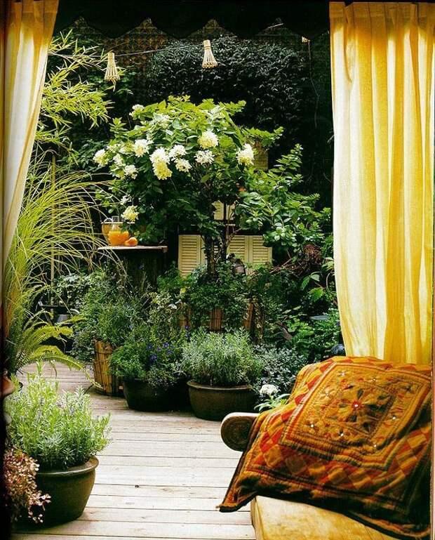 Уютные террасы