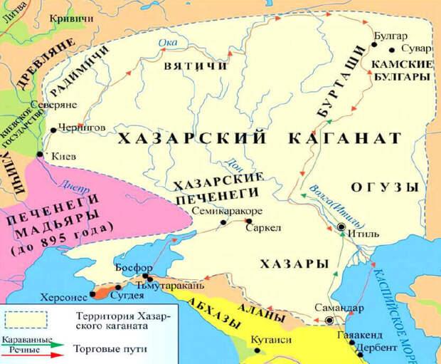 Хазары написали, где и как живут… Но приврали знатно (географический обзор «страны-призрака»)