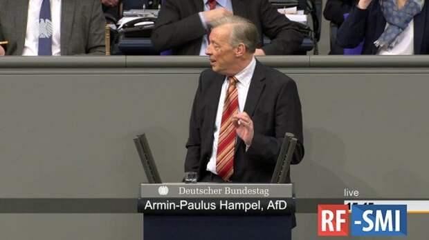 Депутат Бундестага Хампел дал отлуп правительству А. Меркель по делу Навального