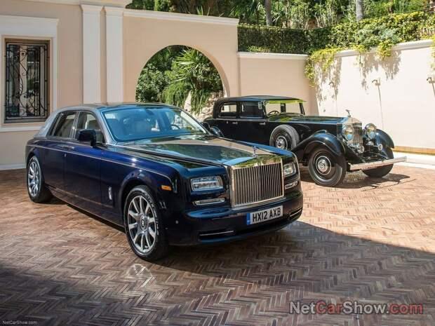 17. Rolls-Royce авто, история