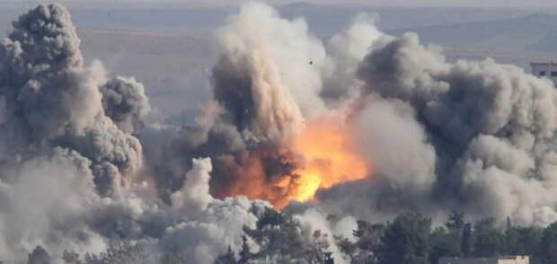 Россия наносит удары по боевикам Эрдогана