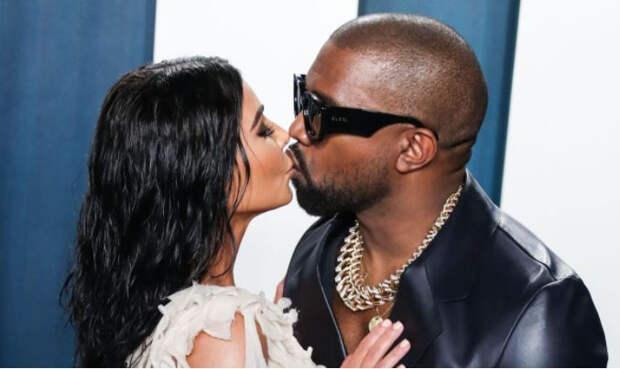 Стало известно, почему Кардашьян и Уэст не спешат оформлять развод