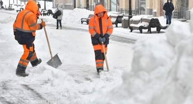 В Дмитровском коммунальщики подготовились к непогоде