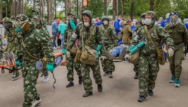 В среду в Подольске пройдут региональные соревнования по гражданской обороне