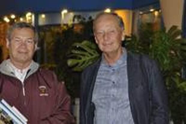 Анатолий Клёсов и Михаил Задорнов