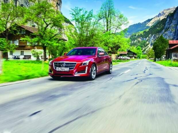 Cadillac CTS: загадка дяди Сэма