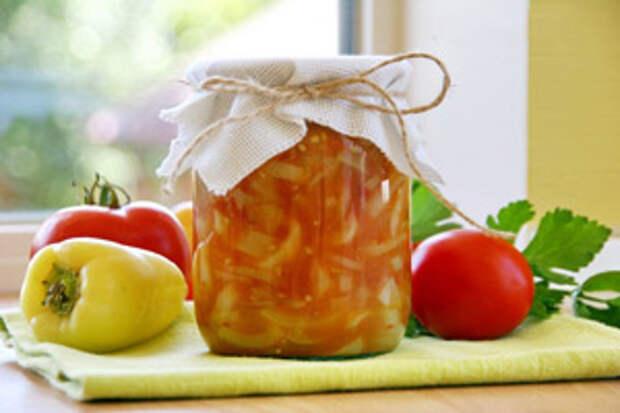 Лечо с яблоками на зиму - пикантное и оригинальное
