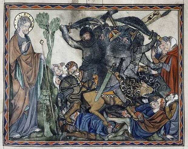 «Битва при Ангиари» и «Битва при Марчиано»: ученик против учителя, символизм против реализма