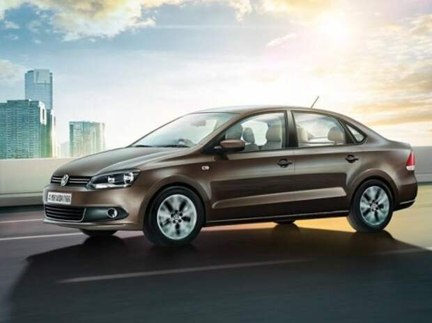 Volkswagen обновил Polo седан