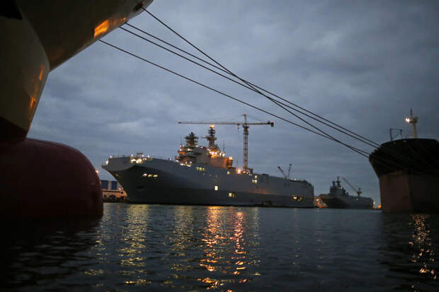 Французские СМИ: Россия может купить «Мистрали» по более выгодной цене