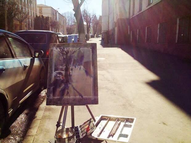 «Люблю, когда все не так просто»: акварели Дениса Петруленкова