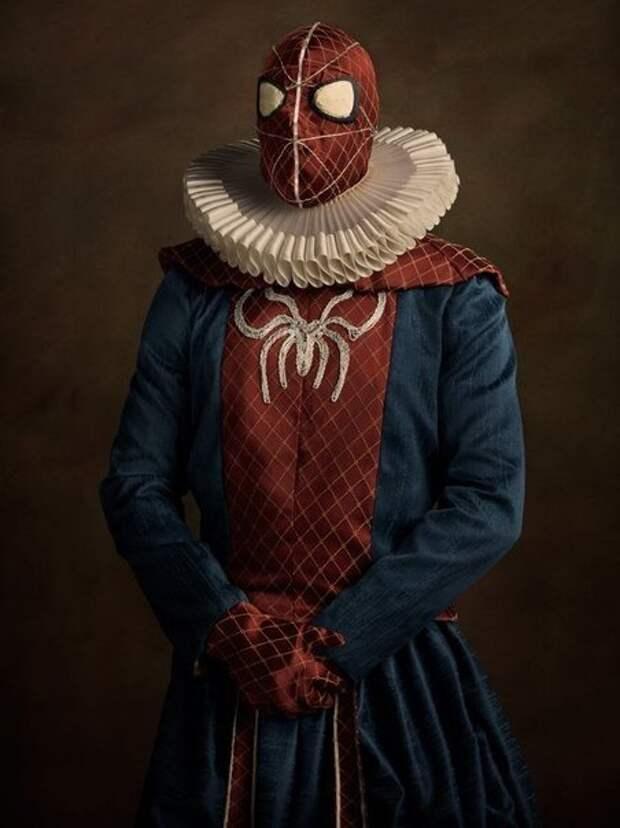 Супергерои в 16 веке.