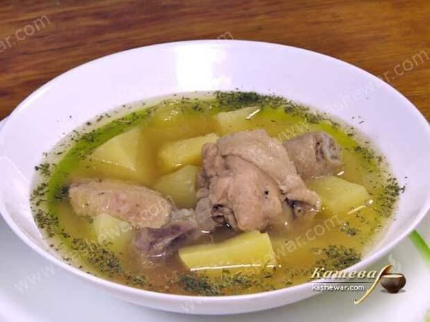 Картофель тушеный с курицей (бозартма из курицы) – рецепт с фото, азербайджанская кухня