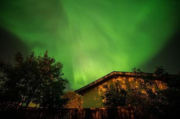 В разных странах наблюдали удивительное Северное сияние