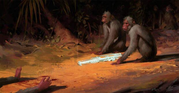 Иллюстрации о жестокости современного мира