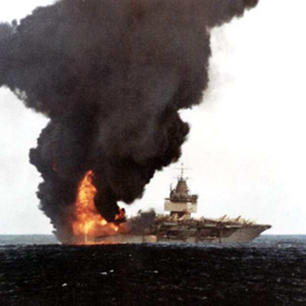 Мёртвая петля на подводной лодке