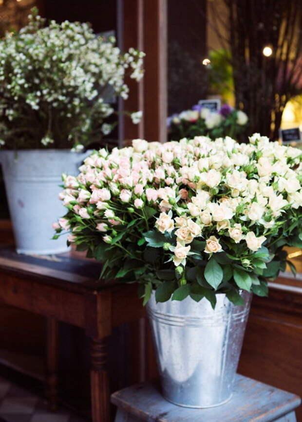 Нежный цветочный декор