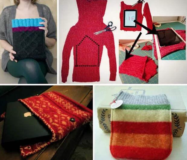 Переделки из старого свитера. Идеи, советы и мастер класс своими руками