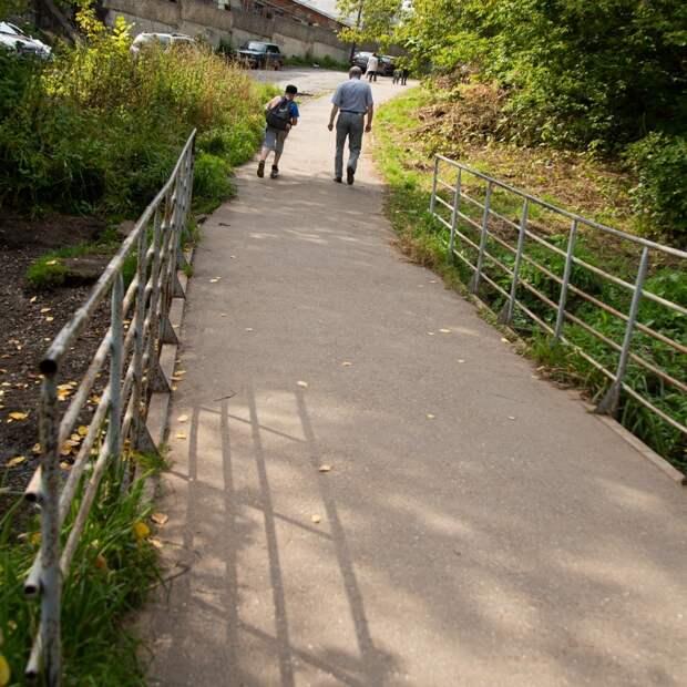В Ижевске реконструируют мост через Карлутку в районе Берёзовой рощи