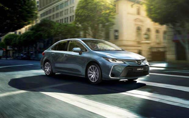 Новая Toyota Corolla: цены и комплектации для России