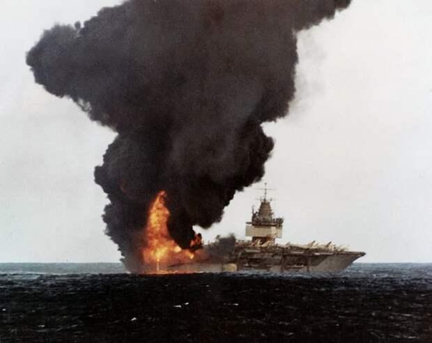 Как русские топили авианосец США «Энтерпрайз»