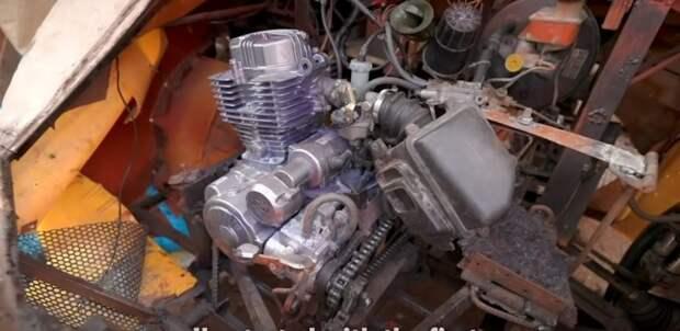 Находчивый подросток из Ганы построил настоящий рабочий автомобиль из металлолома