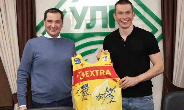 Александр Цыбульский обсудил сАлександром Большуновым планы «спортивной мести»