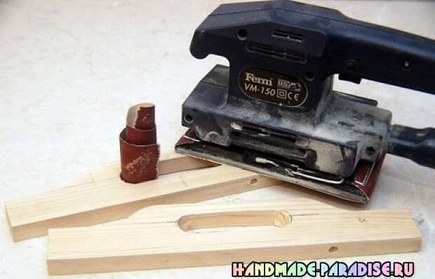 Как сделать деревянный поднос (8)