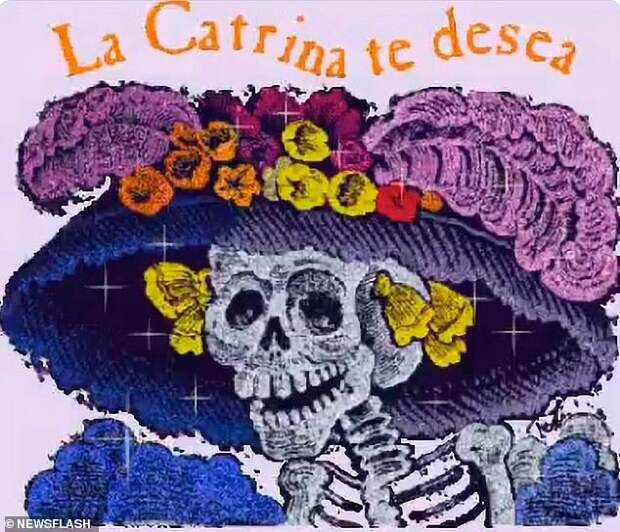 Конспирология, Мексика, Дне Мертвецов